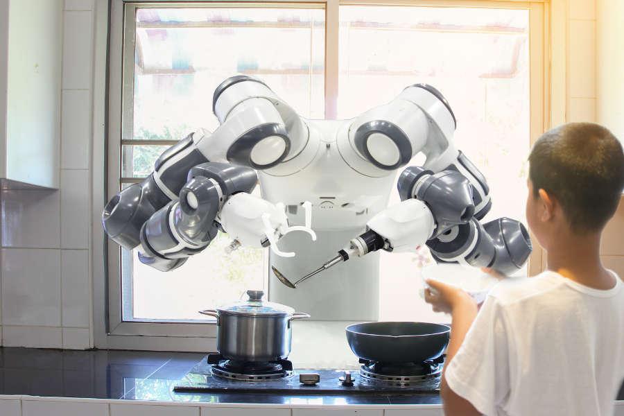 ใช้งาน robot เพื่อทำงานบ้านของคุณ